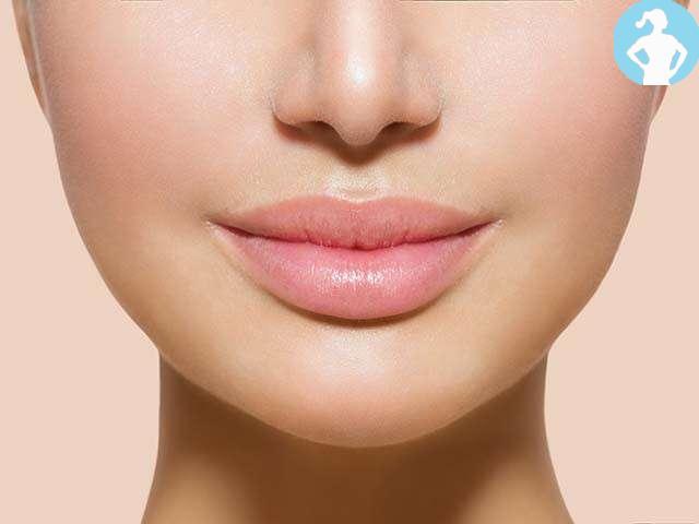 Lips enhance facial beauty:-