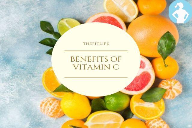 Vitamin C intake :-